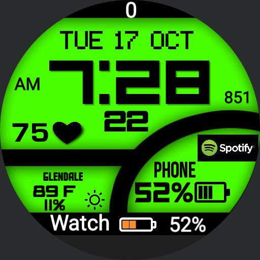 Digital Watch Pety Copy