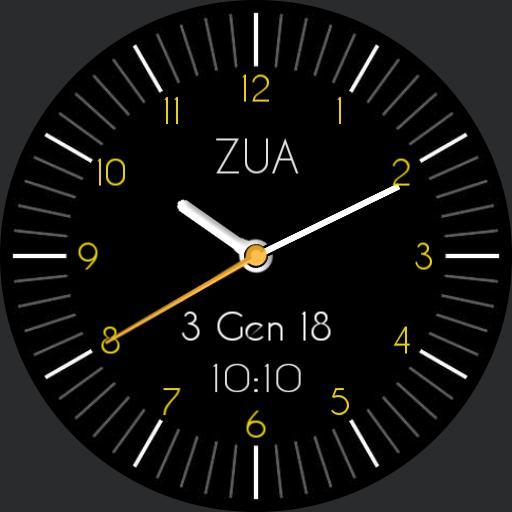 ZUA classic watchface