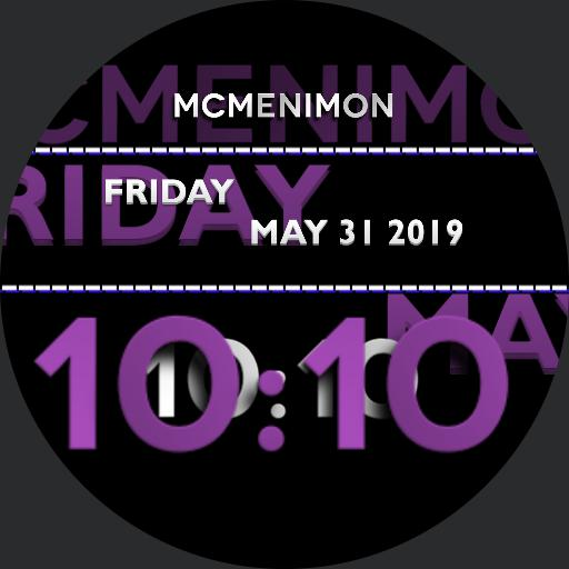 MCMENIMON PURPLE