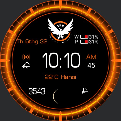 Division Watch Face 24hr Copy