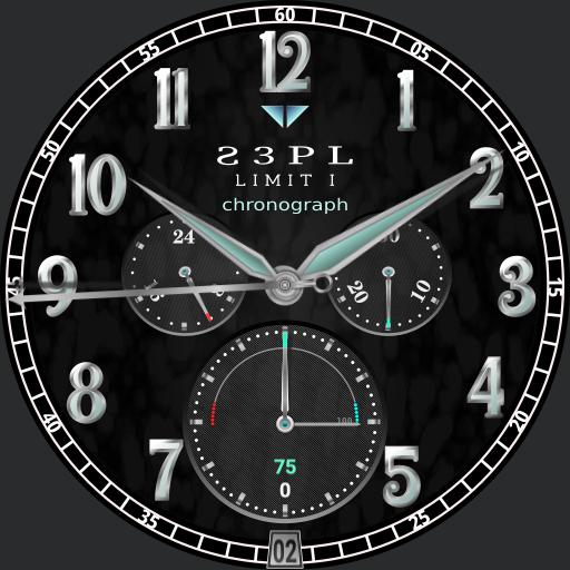 Limit I Chronograph sky black
