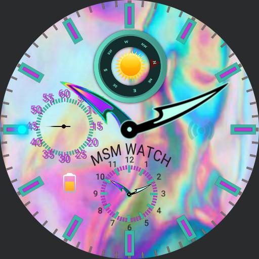 crystal MSM WATCH