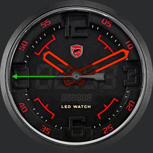 Led Watch Shark