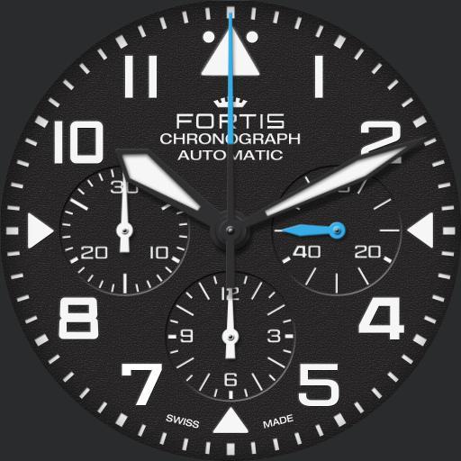 Fortis Pilot Classic Chronograph V1.0