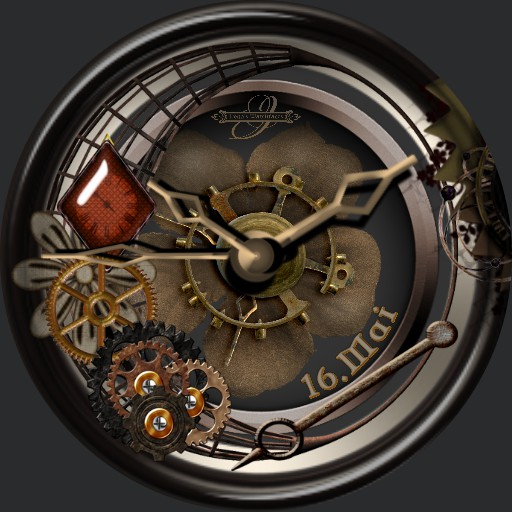 Steampunk Rose