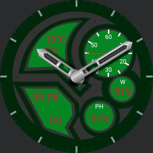 Watch 13 green