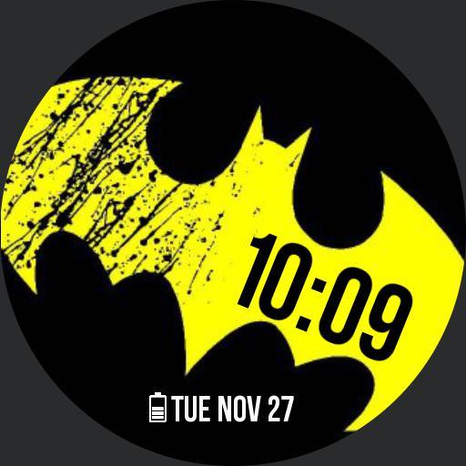 Batman Yellow Logo