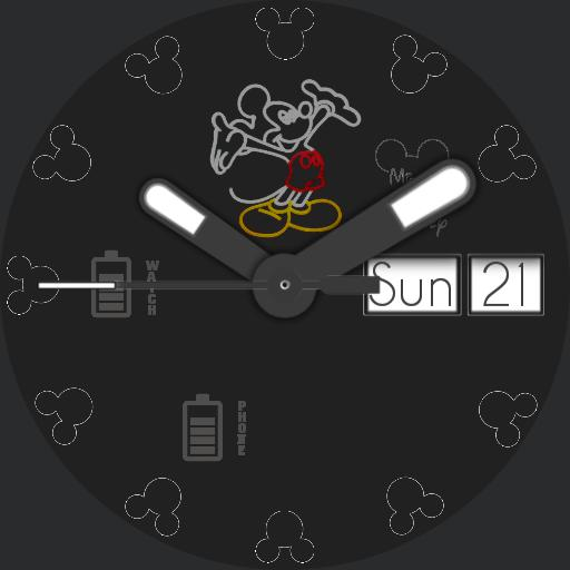 Disney - Mickey II - no bezel