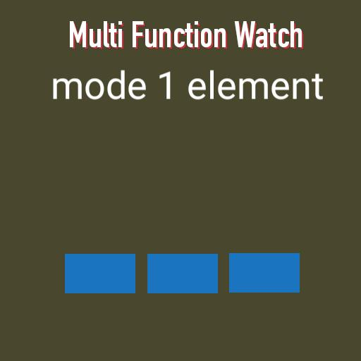 Multi Function Watch Copy