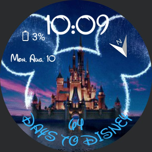 Disney castle  Countdown