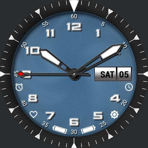 sport watch with lots of controls