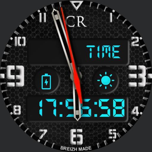 CR black Chrono