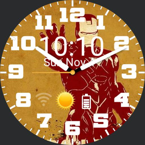 Ben Ironman2 WatchFace