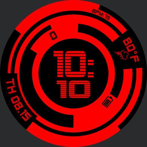 Gits circle red