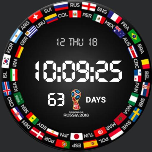 World Cup 2018 Countdown