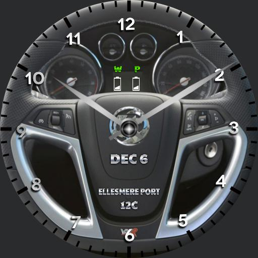 Vauxhall VXR Steering Wheel V1.2