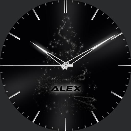 Alex Analog Gradient Real 3D X-Mas