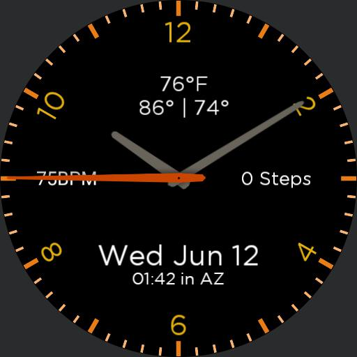 RG Galaxy Watch Face