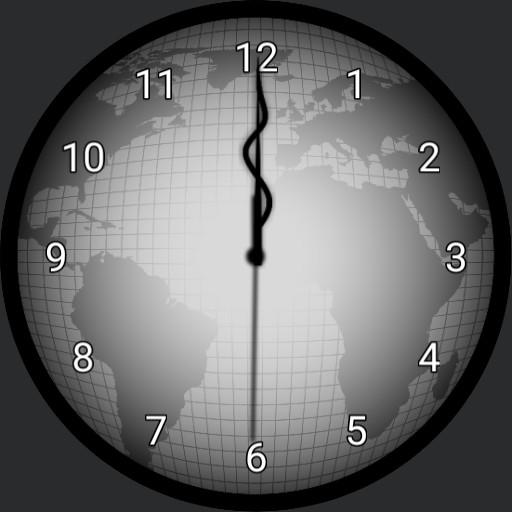 Lunar/World Clock