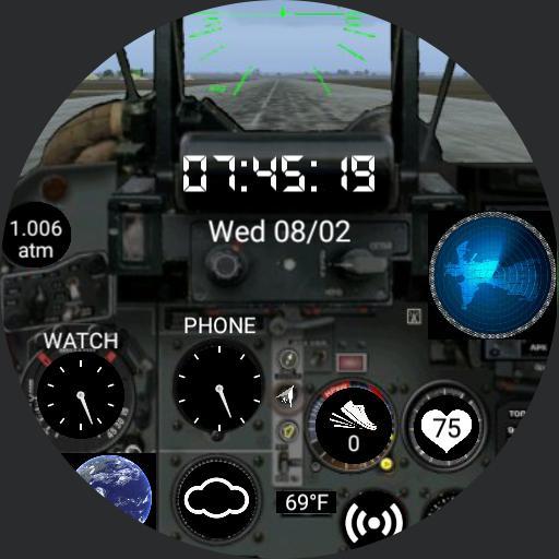 MiG-29 Fulcrum Cockpit Watch Copy - WatchMaker Watch Faces