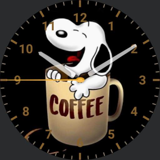 Coffee and Snoopy
