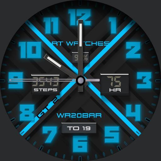 RT Watch GT 2 Light Blue