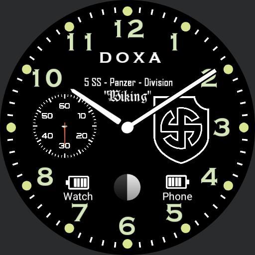 Doxa Waffen 5 ss Panzer Division Wiking Original Battery