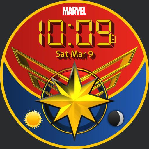 Captain Marvel watch