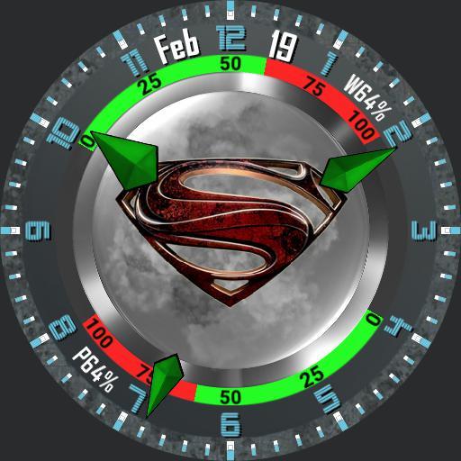 Superman Tribute 2 Face plus Face Cover.