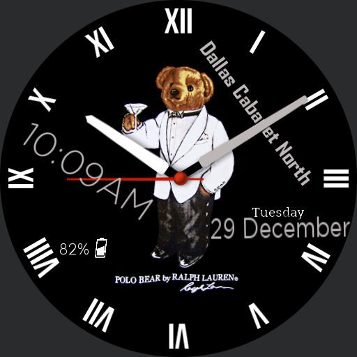 Polo Gentleman Bear Copy