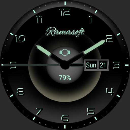 Glowing Analog III by Ramasoft