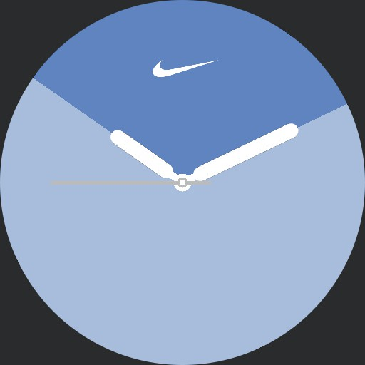 VA Apple Nike Watch Series 5 Zebra inverted with logo full colored