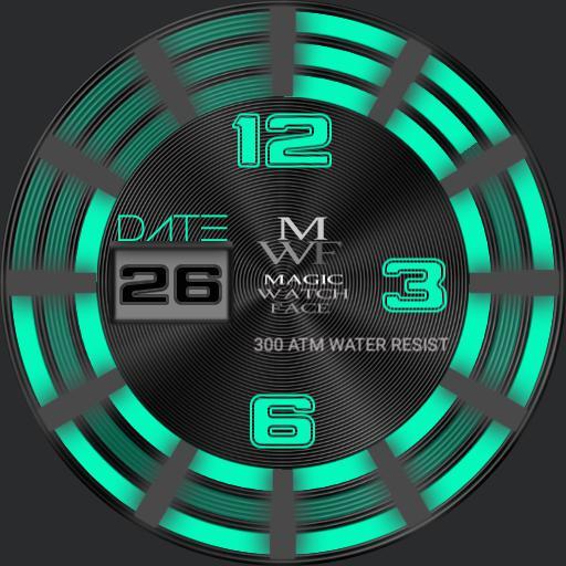MAGIC Watch Hands free luminated Green 1