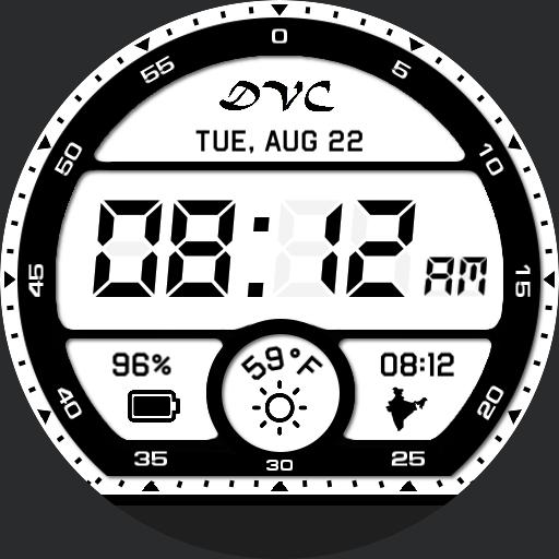 new lcd watch