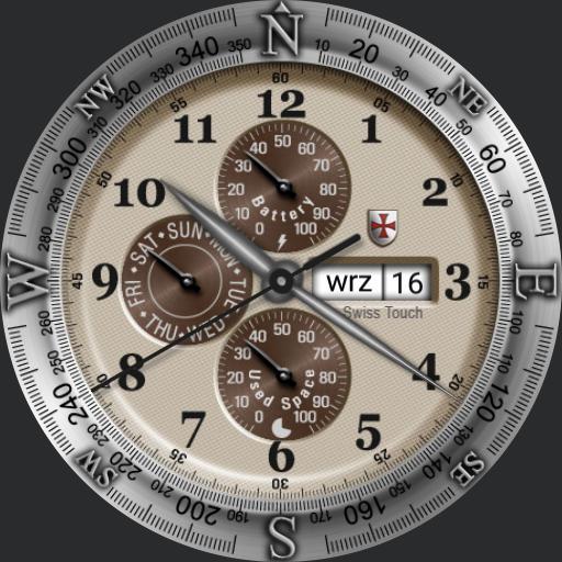 Gear OClock compas