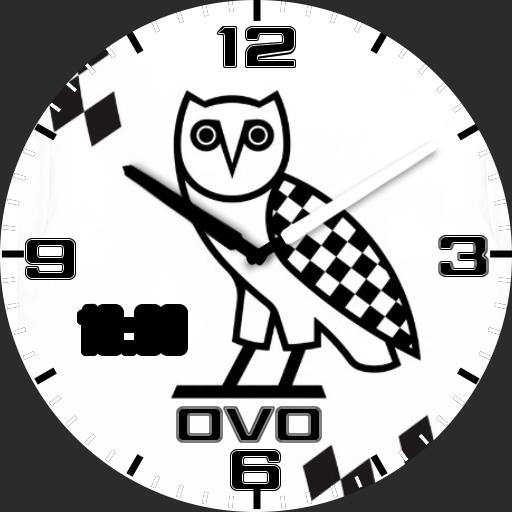 ovo white race owl