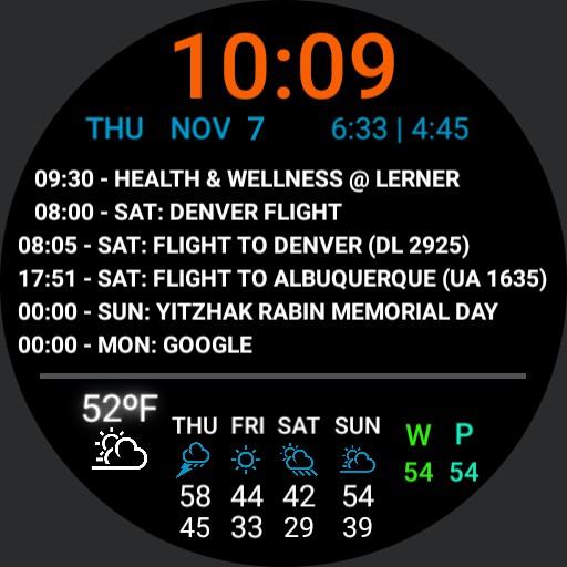Michael Wex weather agenda optimized