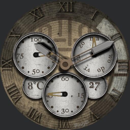 Clock v White