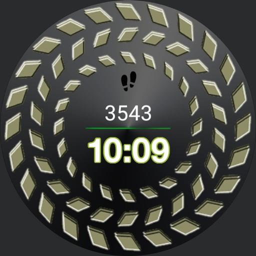 spinning watch