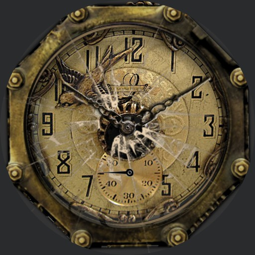 Muster Old Broken Watch
