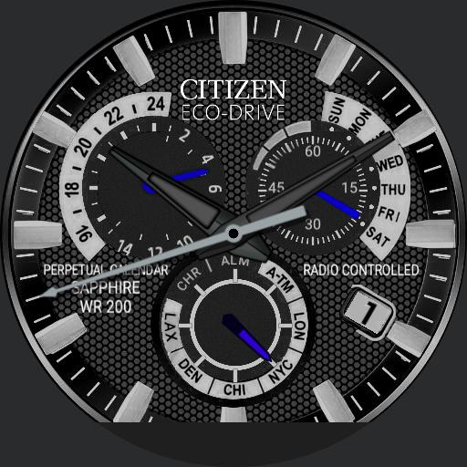 Citizen Eco-Drive Perpetual Chrono AT4004-52