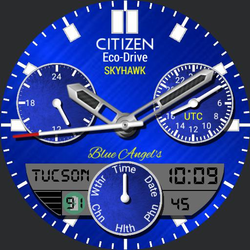 Citizen Skyhawk replica