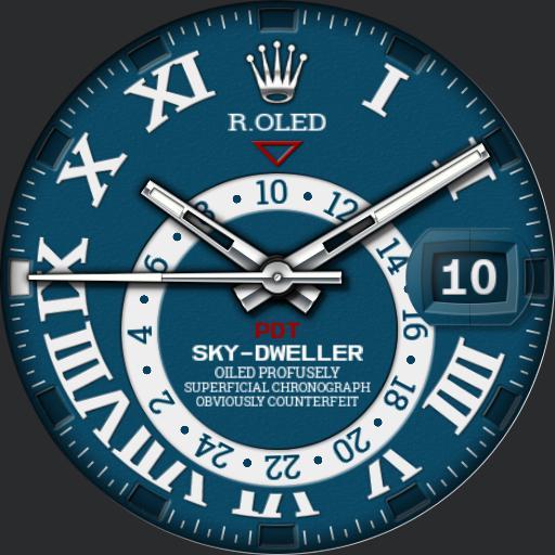 R.OLED Sky-Dweller