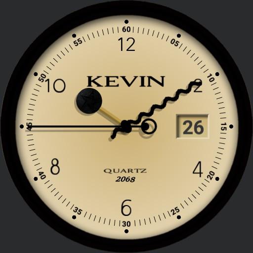 KEVIN steam punk rock watch