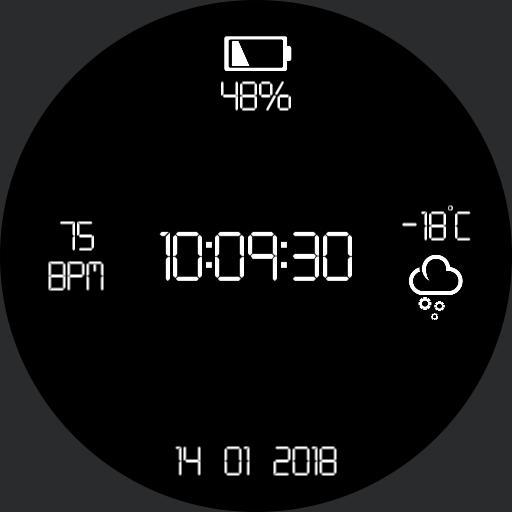 Digital Watchface 1