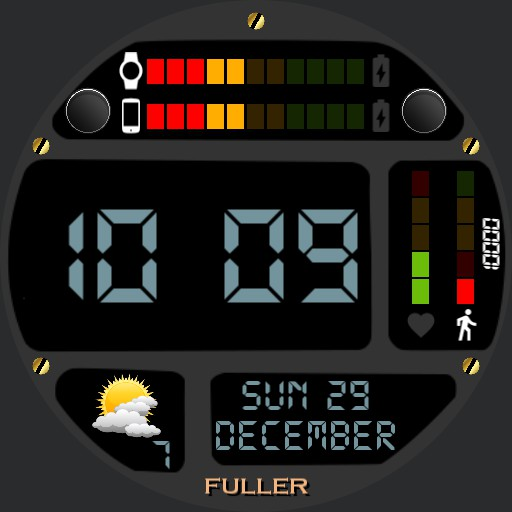 Simple time and health watch Copy