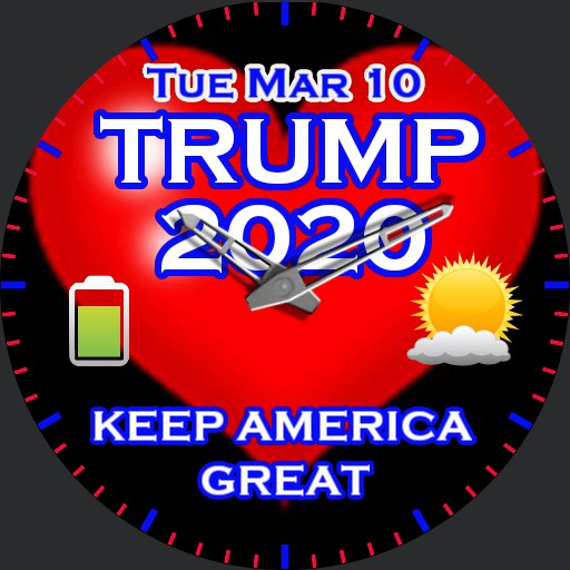 Keep Ameria Great, Trump 2020