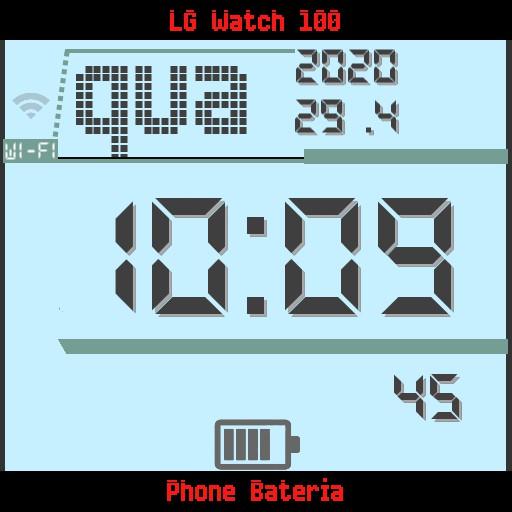 digital lg watch Copy