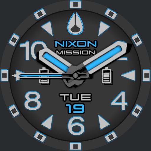 PVS Nixon 9 Factor-X Blue