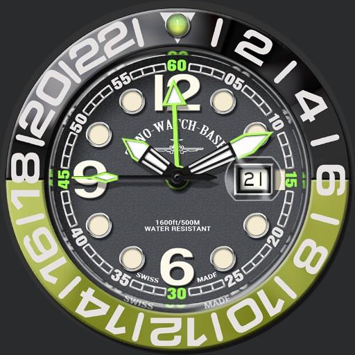Zeno Watch Basel Airplane Diver 6349-515